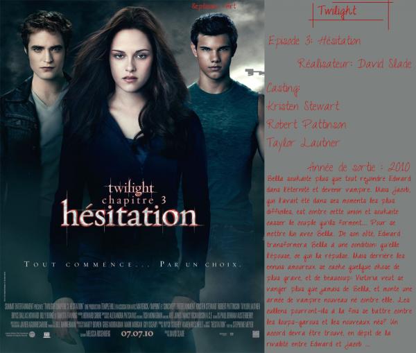 Twilight, chapitre 3: Hésitation