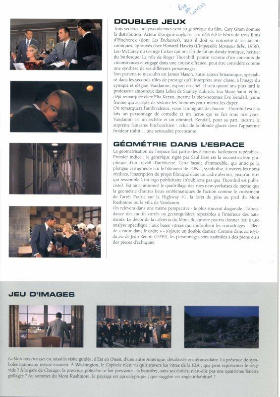 Cours de ciné: La Mort aux Trousses, Hitchcock.