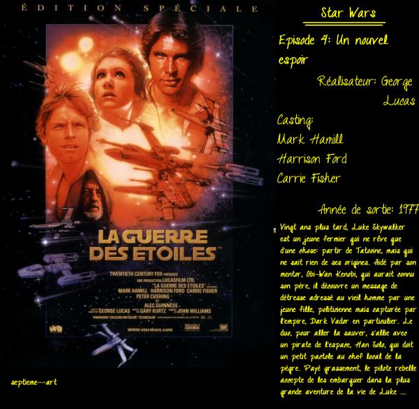 La guerre des étoiles/Un nouvel espoir