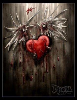 Coeur brisée !