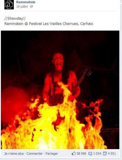 Rammstein Aux Vieilles Charrues [ 2013 ]