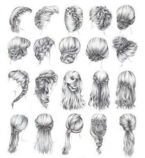Quelques idées coiffures ❤️