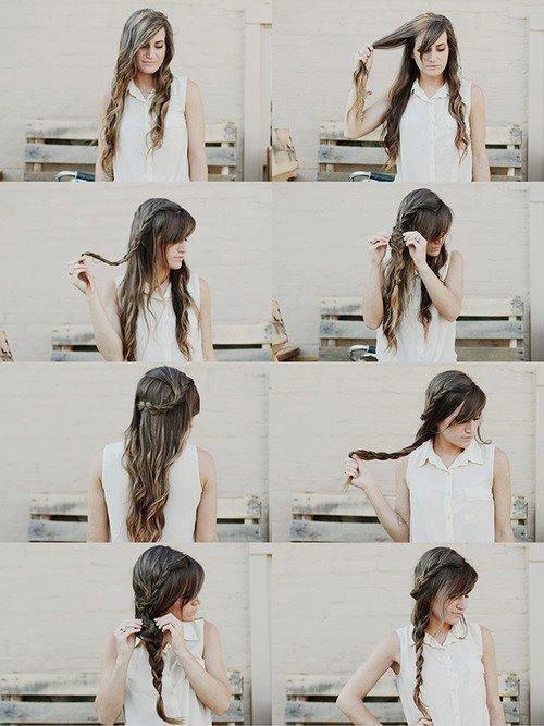 Tutos coiffures ❤️