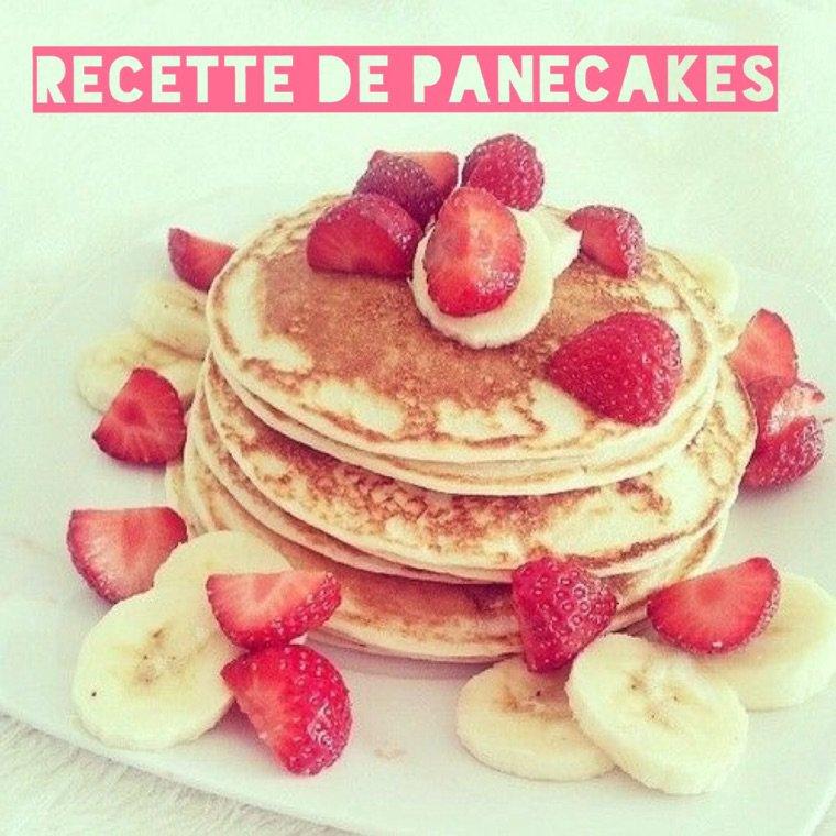 Recette | pancakes simples et rapides❤️
