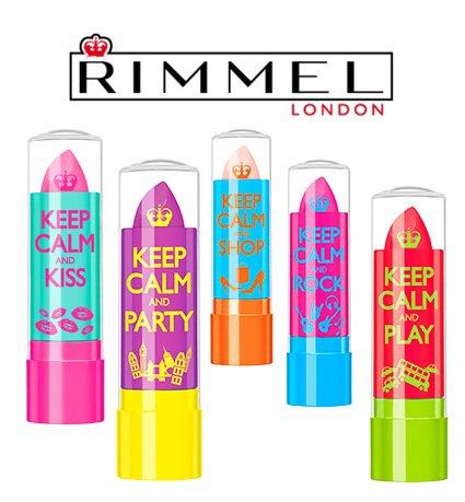 Revue   keep calm-Rimmel : baume à levre colorés❤️