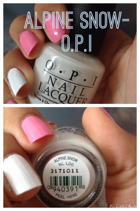 Nail art rose et blanc ❤️