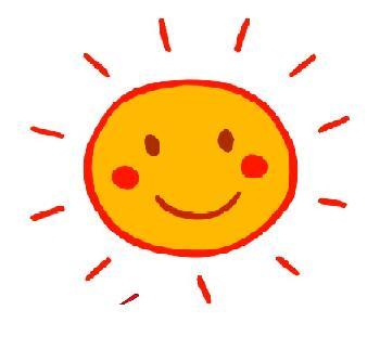 Maboites a couleurs bonjour - Image soleil rigolo ...