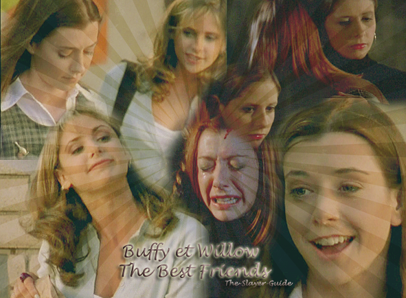 Ҩ Catégorie Couples  => WILLOW ET BUFFY. THE BEST FREINDS crea