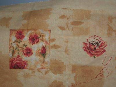 """Roses triptych "" avancée 6"