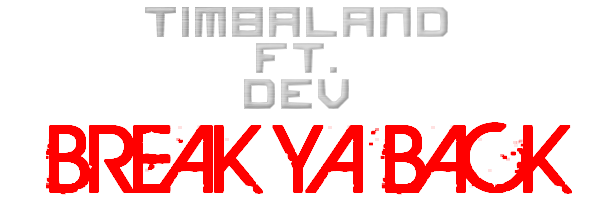 ■ ■ ■ Timbaland-LeBlog by WAZAH! prods. presents ■ ■ ■