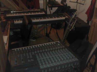 Ma chambre...Home studio