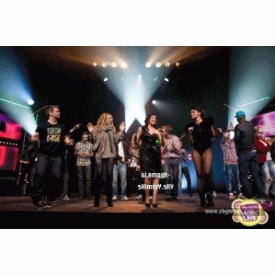 18|03|11 Shy'm etait à M6 Music Live: Photos