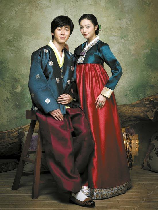 le hanbok coréen