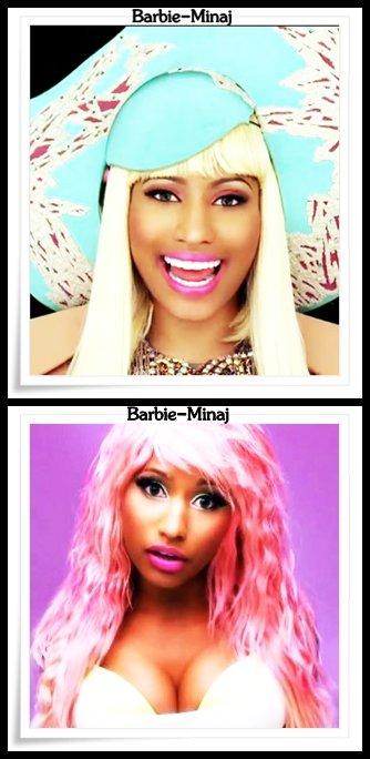 Découvre différents les clips de Nicki Minaj ..