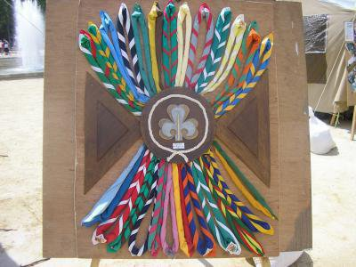 differents types de foulards scout