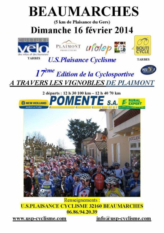 PREMIERE CYCLOSPORTIVE 2014 !!