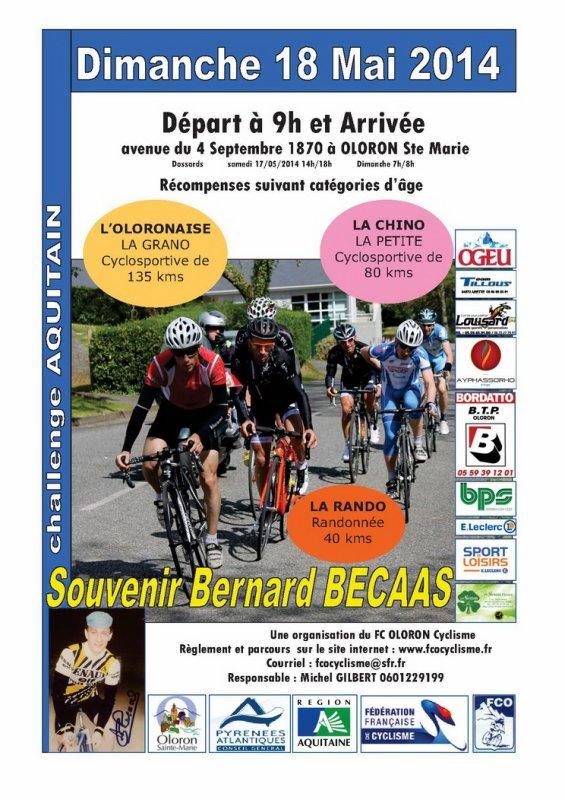 CYCLOSPORTIVE DE MAI 2014