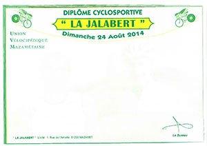 POUR LES DIPLOMES DE LA JALABERT 2014