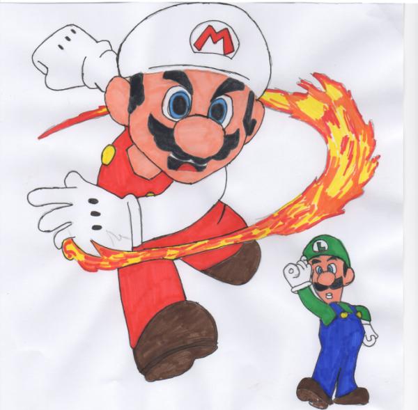Mario end Luigi