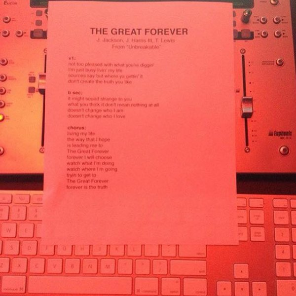 NEW SONG // THE GREAT FOREVER