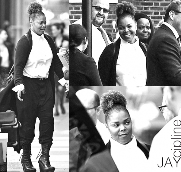 JANET IN COURTS IN LONDON