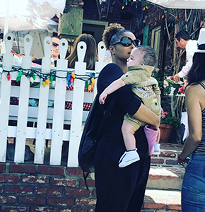JANET & EISSA IN LOS ANGELES