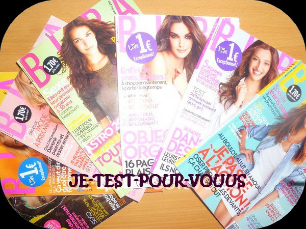 J'ai testé... Le magazine Biba