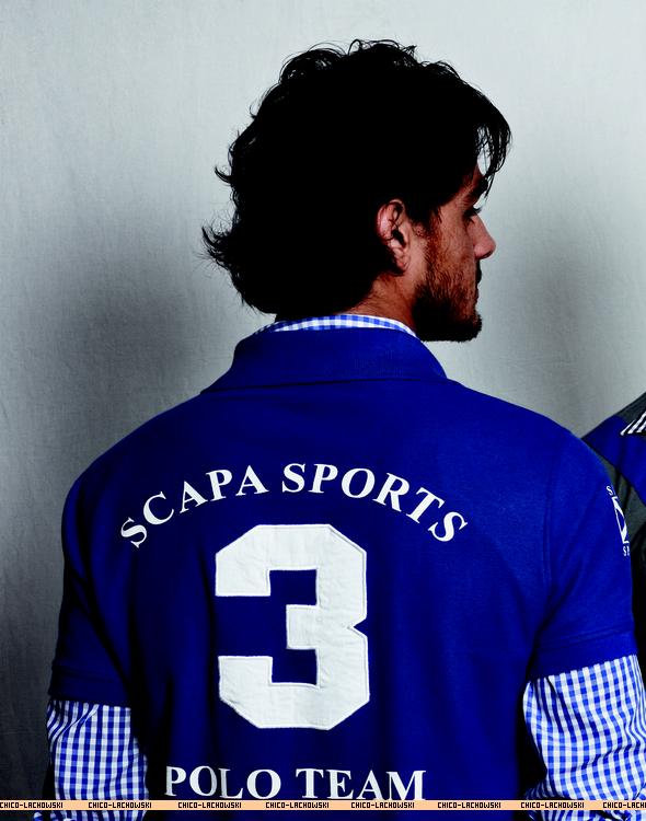 . Scapa Sports SS 2012:Photoshoot de Francisco + Marlon Teixeira  (défile la barre défilement - 5 photos ) .
