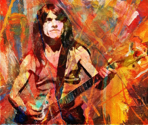 HOMMAGE A MALCOLM YOUNG - ACDC