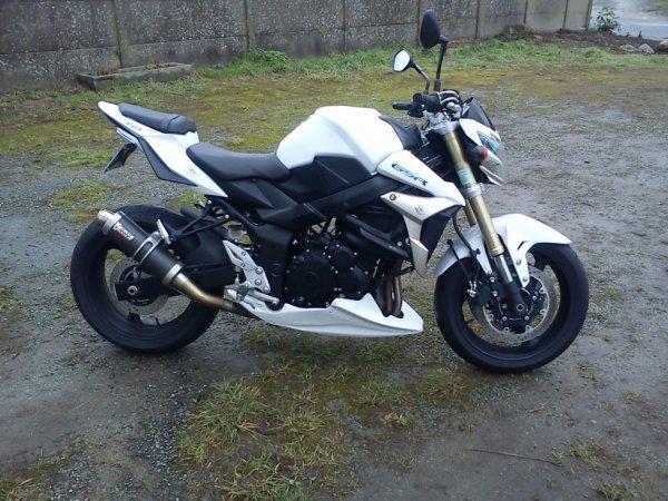 présentation de ma nouvelle moto