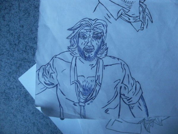 DESSINS The Wolf Among Us