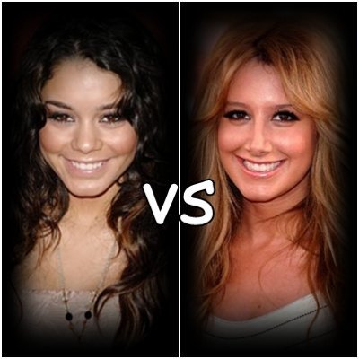 ashley tisdale vs vanessa hugens