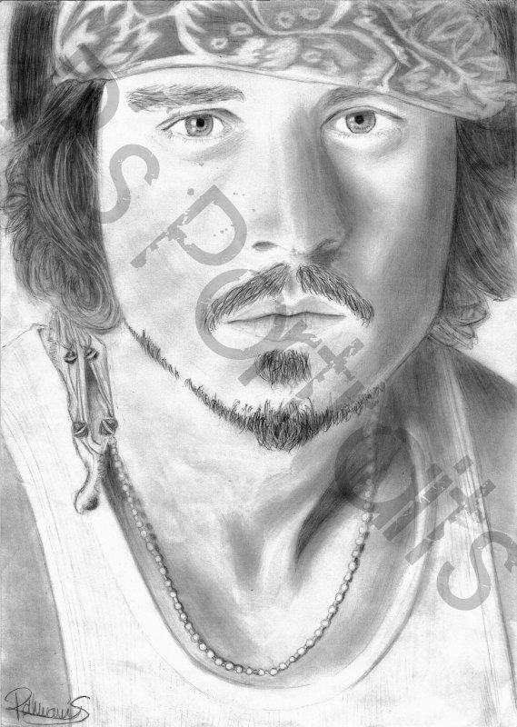 Portrait - Johnny Depp