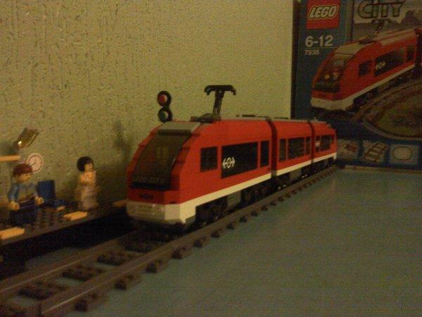 Le train de passagers : n° 7938