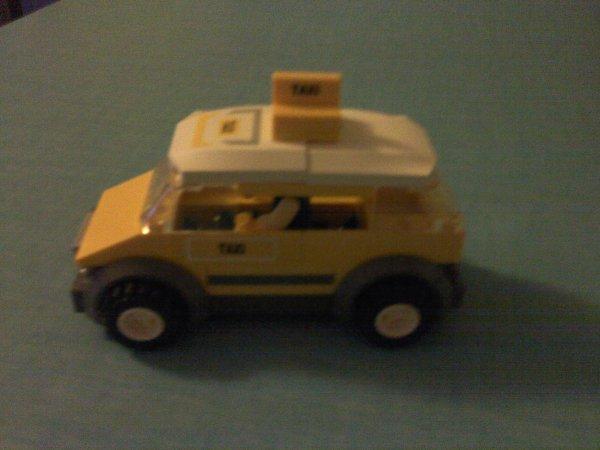 La voiture de Taxi