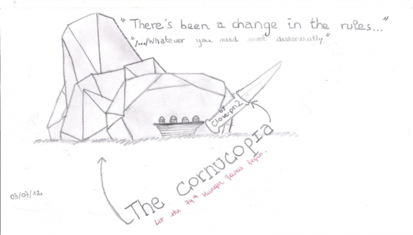 Drawing~The cornucopia