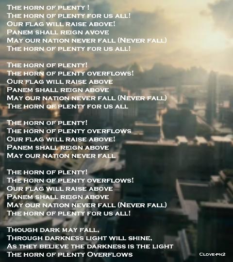 The Horn of Plenty Lyrics