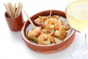 Crevettes au miel et au gingembre