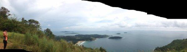 Nai harn beach see view