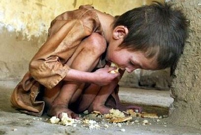 """""""le gaspillage cause la faim dans le monde"""""""