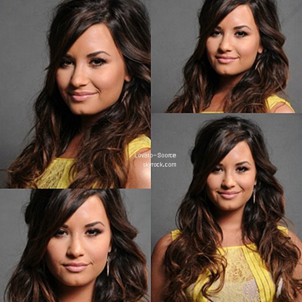 07/08/11 Demi Lovato arrive au 2011 Teen Choice Awards  tenue à l'amphithéâtre Gibson à Universal City, en Californie. Demi semble si belle avec cette robe jaune vif