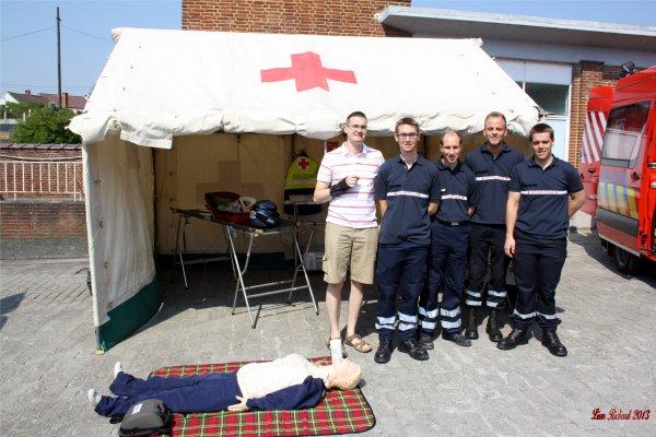 Journée portes ouverte des pompiers de Soignies le 08 & 09 Juin 2013.