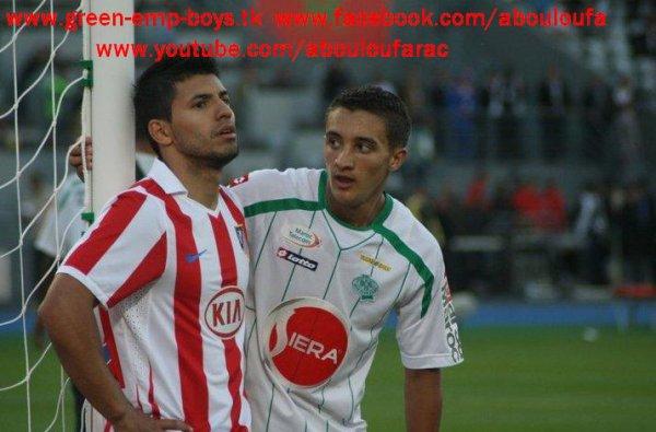 raja casablanca vs Atletico madrid 1-3
