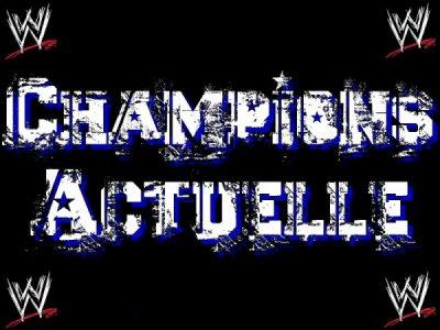 les champions de la pswwe