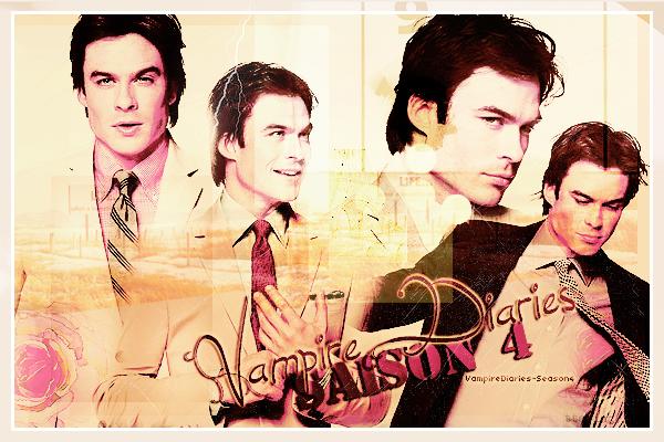Ta première source consacré a la saison 4 de Vampire Diaries !