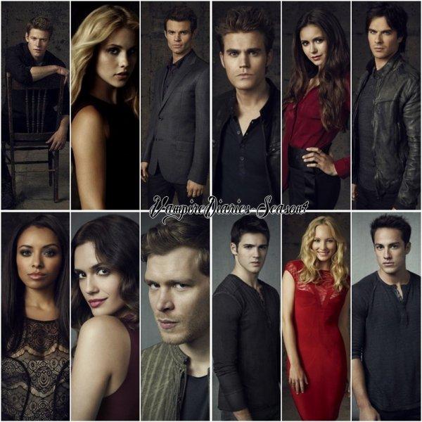 Photo shoot de la saison 4 de Vampire Diaries