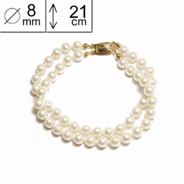 Bracelet double en perles