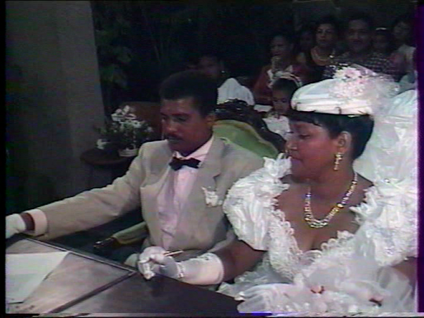 MARIAGE ...SUZETTE &MICHEL DOLPHUS
