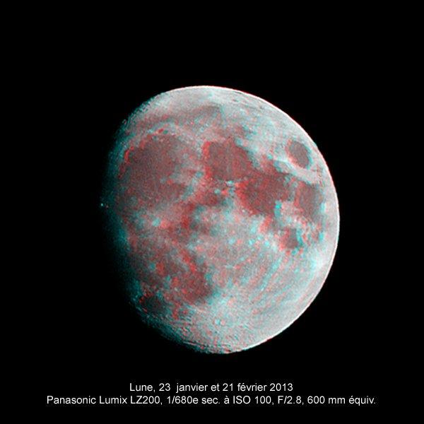 La Lune en 3D