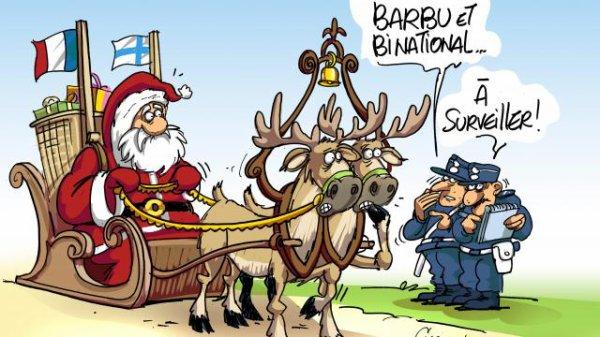 Attention aux faux père Noel